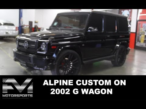 "one-of-a-kind-alpine-9""-alpine-halo9-on-a-2002-g-wagon-|-alpine-custom-|-car-audio-custom"