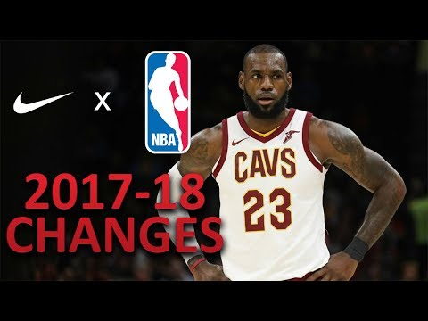 NBA 2017-18 Uniform Changes | Nike x NBA