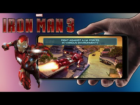 Download Iron Man 3 Mod Apk (Unlimited Money) + Data For Android | Iron Man 3