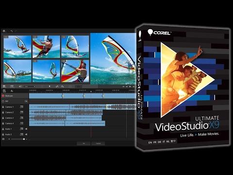 Corel videostudio multikamera