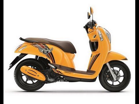 Honda Scoopy i eSP 110 โฉมใหม่ 2017 พร้อมชน Yamaha : motorcycle tv