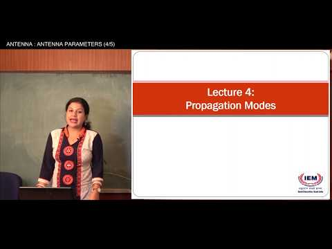 ANTENNA | LECTURE- 4 | PROF. SRIJITA CHAKRABORTY | Gymkhana TV | IEM