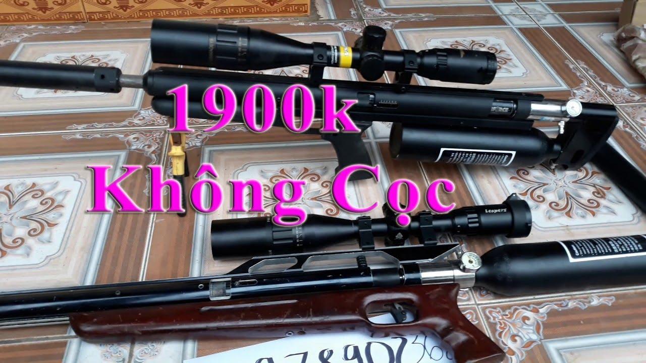 Súng pcp bi sắt bắn chim ko cọc giá rẻ 1700k xa 50-60m  093.,481.,1176