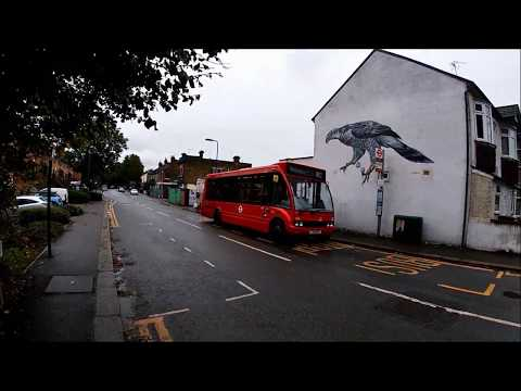Full Route Visual | London Bus Route W12 Wanstead To Walthamstow Coppermill Lane YJ10EYL OS8