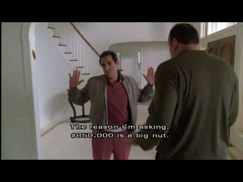 "Sopranos - Tony and Richie confrontation  ""House Arrest"" Season 2 ep 11"