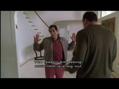 "Sopranos - Tony and Richie confrontation  ""House Arrest"" Season 2 ep 11"