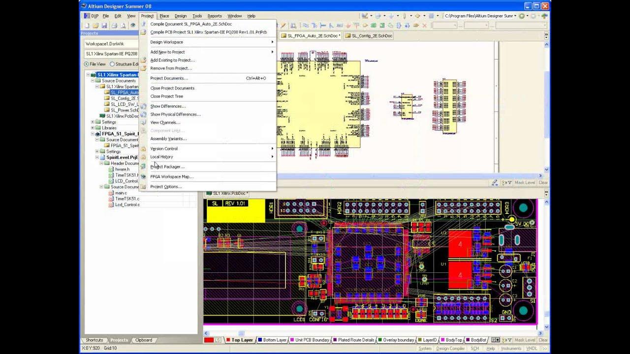 11 - Altium Designer, Semiranje, PCB, FPGA, Embeded softver ...
