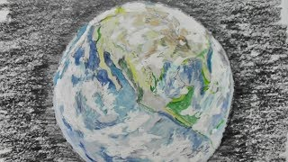 Gambar cover Drawing of the Earth (took 47 minutes)