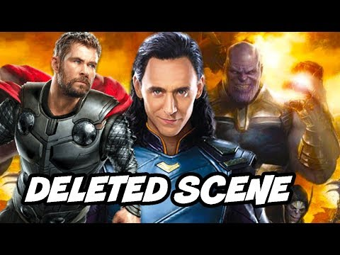 Avengers Infinity War Deleted Scene and Thor and Loki Alternate Ending Explained