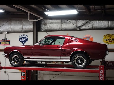 1967 Mustang Fastback >> 1967 Ford Mustang GT Fastback 2+2, 390 S Code, 4 Speed ...