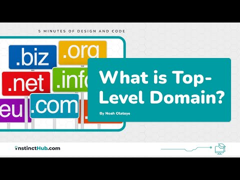What is Top-Level Domain? - .COM, .ORG, .NET
