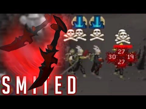 Rev Caves Abyssal Dagger! Slicing Up NOOBS (OSRS)
