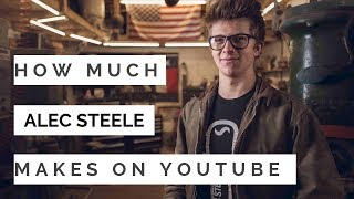 How much does Alec Steele make on Youtube