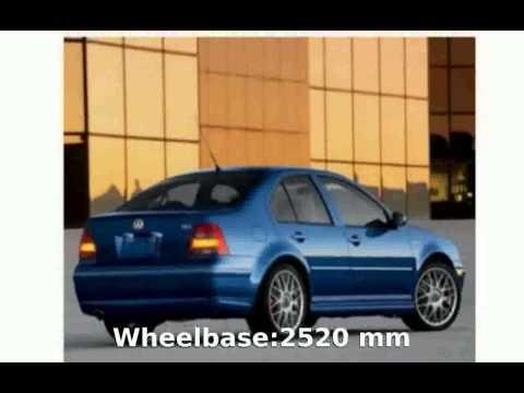 2004 Volkswagen Jetta Sedan GLS 2.0 L Features & Specification