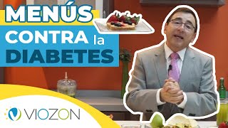 CREA MENÚS CONTRA la DIABETES | Viozon #diabetes #dietas