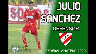 JULIO SANCHEZ- Defensor. Independiente NQN Federal Amateur 2020