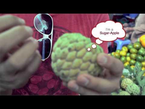 Living on $1,000 a Month in Vietnam! Sugar Apple a weird tropical fruit