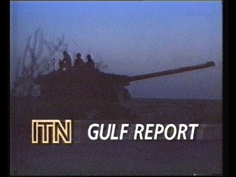 YTV - Adverts, Continuity & ITN Gulf Report - 1991