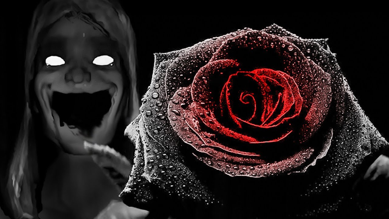Black Rose And Heart