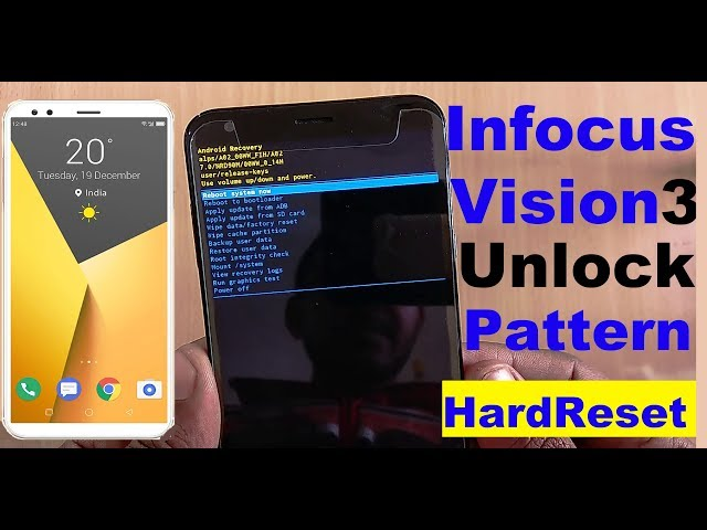 how to unlock forget pattern lock