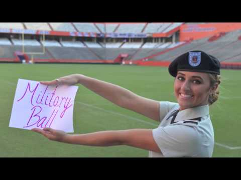 Military Ball Invitation to Tim Tebow YouTube
