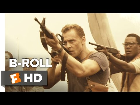 Kong: Skull Island B-ROLL (2017) - Tom Hiddleston Movie