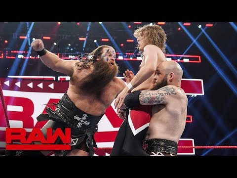 The Viking Raiders Vs. Brian Thomas & Tyler Hastings: Raw, Sept. 2, 2019
