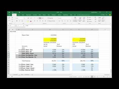 Jet Enterprise - 3 ways to visualize data (in Jet Reports, PowerBI and Pivot Tables)