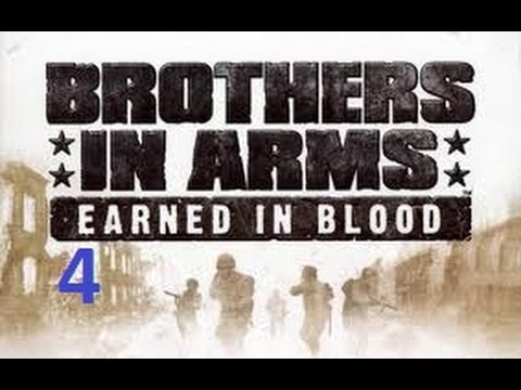 Let's Play Brothers In Arms Earned In Blood Chapter 3-Members of Bakers dozen