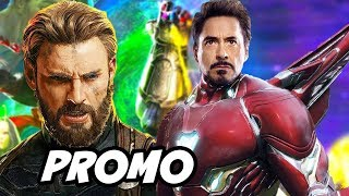 Avengers Infinity War Secret Avengers Explained by Captain America and New Trailer Details