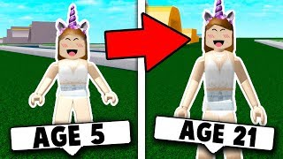 GROWING UP IN ROBLOX! (Roblox Simulator) Roblox Roleplay