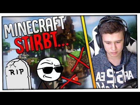 """""""Minecraft STIRBT..."""" 😱 Meine Gedanken zu diesem Thema und der aktuellen Minecraft Szene 😰"""