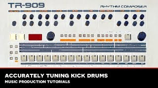 MMS Tutorial : Tuning Kick Drums