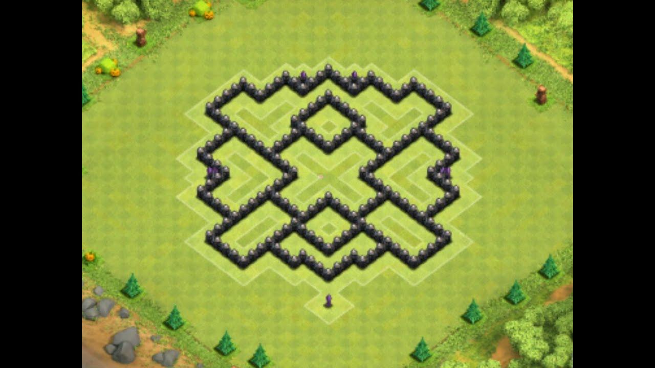 De aldea ayuntamiento 7 antifarming th7 farming base youtube
