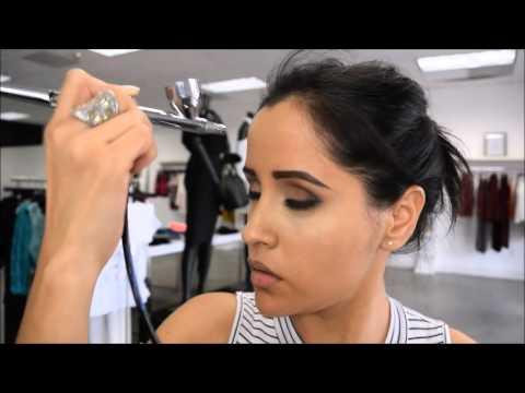 Airbrush Makeup Demo