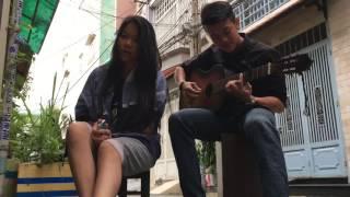 Phía sau một cô gái - Tiên Cookie - Guitar Cover - Street Workout Lang Hoa