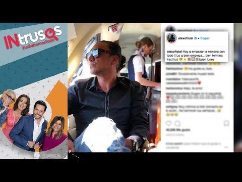 Bajaron a Alejandro Fernández de un avión por estar en estado alcohólico | Intrusos
