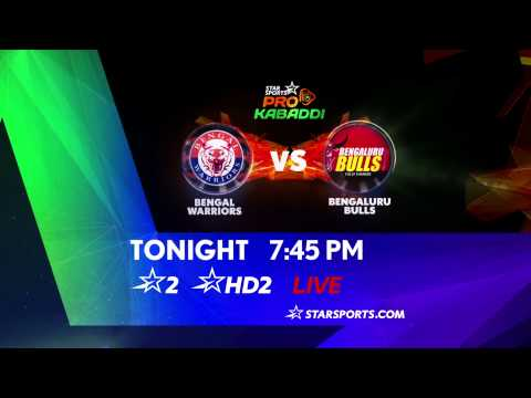 Bengal Warriors Vs Bengaluru Bulls - 30th July