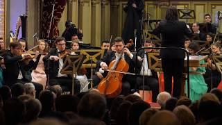 Orchestra Romana de Tineret dirijor Gabriel Bebeselea solist Stefan Cazacu