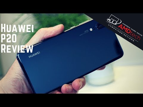 Huawei P20:  The Review