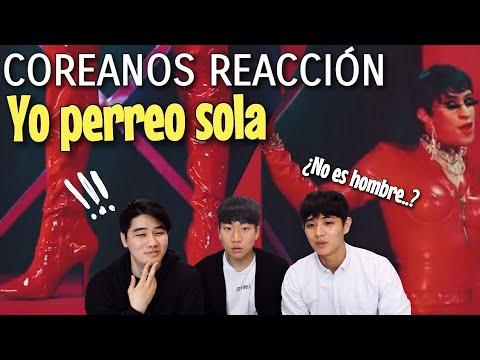 """COREANOS REACCIONAN A """"YO PERREO SOLA"""" – BAD BUNNY [Pandita Chan]"""