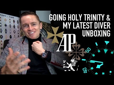 Which Holy Trinity Watch Should I Buy? - AP, Patek, Vacheron Constantin + Unboxing My Latest Diver