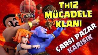 Th12 MÜcadele Klanina Gİrdİm - Çilgin SavaŞlar | Clash Of Clans
