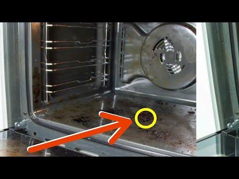 In 5 minuti il tuo forno sarà pulito con questo trucco