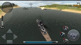 Ships of Battle: The Pacific - Android Gameplay