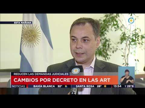TV Pública Noticias - Cambios en ART por Decreto