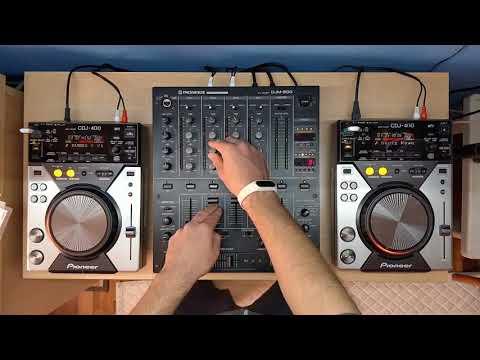 Mini Mix Pioneer CDJ 400 Pioneer DJM 500