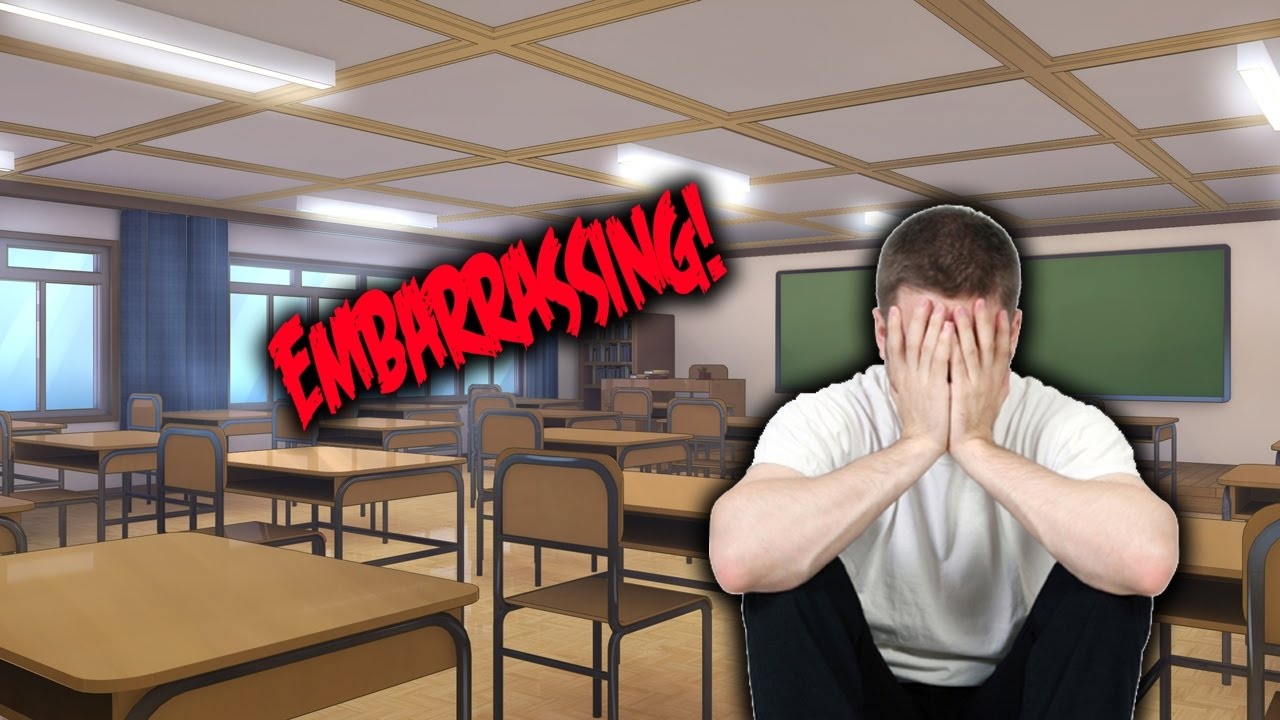 The 10 most embarrassing moments of my life