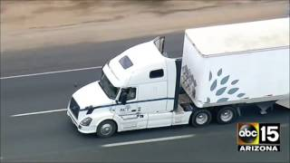 Download LIVE: California Highway Patrol in pursuit of a semi-truck. Mp3 and Videos
