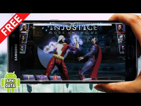 Highly Compressed Injustice God Among Us Offline || In Android || Androidgaming ||